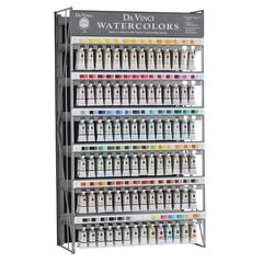 Da Vinci Artists' Watercolor Paint Display