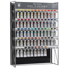 Oil Color Paint 120-Piece Display Assortment