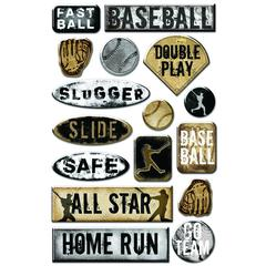 Epoxy Sticker Baseball #2