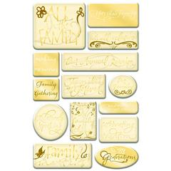 Creative Imaginations Epoxy Sticker Family Phrases