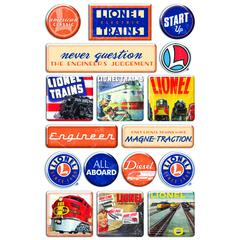 Creative Imaginations Epoxy Sticker Classic Lionel