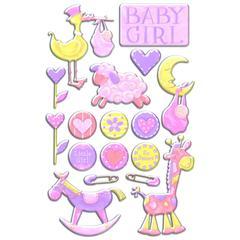 Creative Imaginations Epoxy Sticker Baby Bella