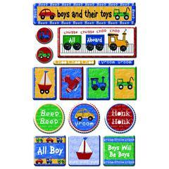 Epoxy Sticker That's My Boy