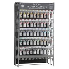 Da Vinci Fluid Acrylic Paint Display