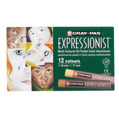 Cray-Pas Expressionist Multi-Cultural Oil Pastel Set