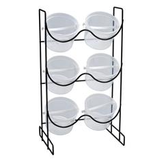 Alvin Wire Bucket Rack