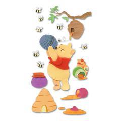 EK Success Disney© 3-D Stickers Winnie The Pooh & Honey Pots