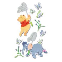 3-D Stickers Winnie The Pooh & Eeyore