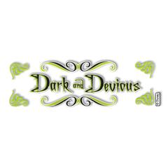 Title Stickers Dark & Devious