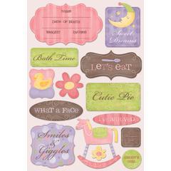 Karen Foster Design Cardstock Sticker Smiles & Giggles