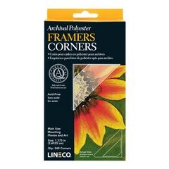 Lineco Archival Polyester Framers Corners