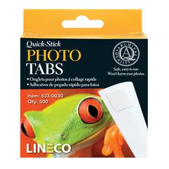 Quick-Stick Photo Tabs