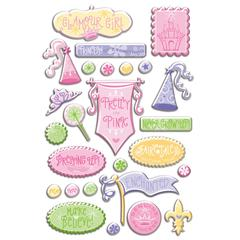 Creative Imaginations Epoxy Sticker Fairy Princess