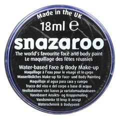 Snazaroo FACE PAINT BLACK 18ml