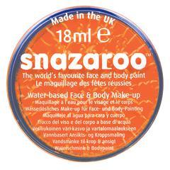 Snazaroo FACE PAINT ORANGE 18ml