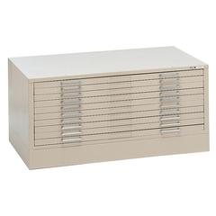 10-Drawer C-File White
