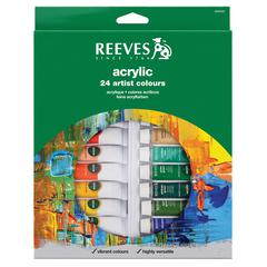 Reeves 10ml Acrylic 24-Color Set