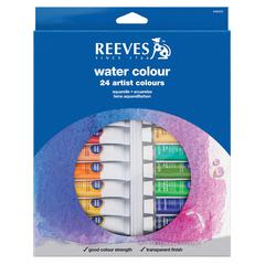 Reeves 10ml Watercolor Paint 24-Color Set