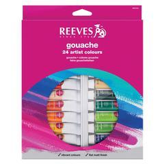 Reeves 10ml Gouache Watercolor Paint 24-Color Set