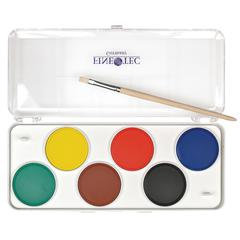 Preschool Watercolor Paint 6-Color Set