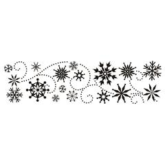 Clearsnap Design Adhesive Snow Fun