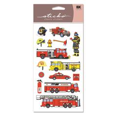 Sticko Classic Stickers Fire Department