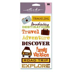 Classic Stickers Travel Phrases