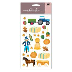 Classic Stickers Fall Scarecrow