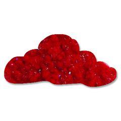 Sparkly Fluff Rockstar Red