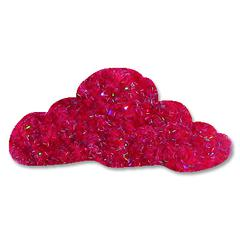 Our Craft Lounge Sparkly Fluff Sparkly Fluff Rockin Pink