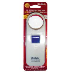 7x LED Lighted Pocket Magnifier