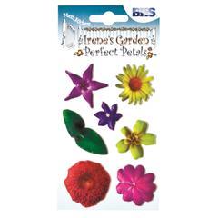 Blue Hills Studio Irene's Garden Perfect Petals Stickers Mix D