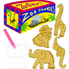 Sticker Animal Cracker