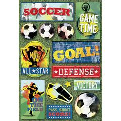 Cardstock Sticker Soccer All-Star