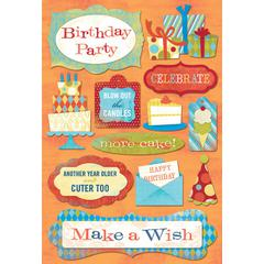 Karen Foster Design Cardstock Sticker Blow Candle
