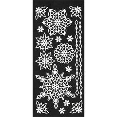 Stickers White Snowflake