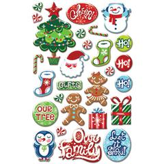 Epoxy Sticker Dear Santa