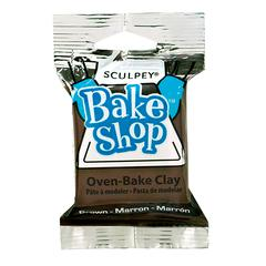 Sculpey Bake Shop Oven-Bake Clay Brown