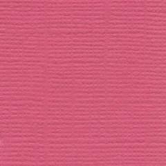 Bazzill Monochromatic 12 x 12 Textured Cardstock Flamingo