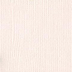 Bazzill Monochromatic 12 x 12 Textured Cardstock Vanilla