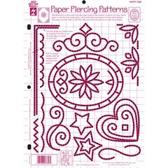 "8.5"" x 12"" Papercrafting Template Paper Piercing"