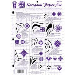 "Hot Off the Press 8.5"" x 12"" Papercrafting Template Kirigami Art"
