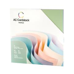 American Crafts AC Cardstock 12 x 12 Variety Pack Pastel
