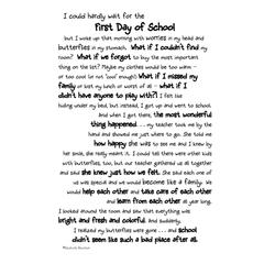 It Takes Two Poems For A Page 1st Day of School Stickers
