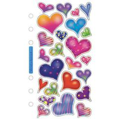 Classic Stickers Sparkle Hearts