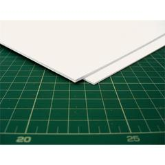 "30 x 40 White Modeling Board 1/32"" Thickness"