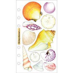 Sticko Vellum Stickers Seashells