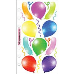 Sticko Vellum Stickers Balloons