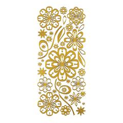 Stickers Daisy Gold