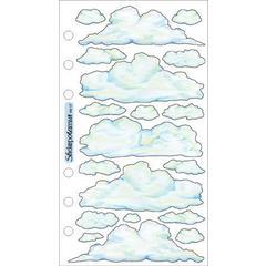 Sticko Vellum Stickers Clouds